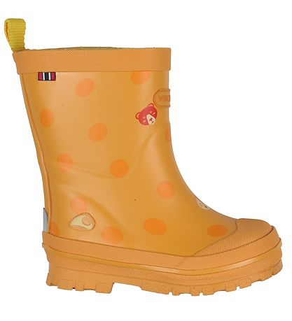 Viking Rubber Boots - Hidden Animals - Yellow
