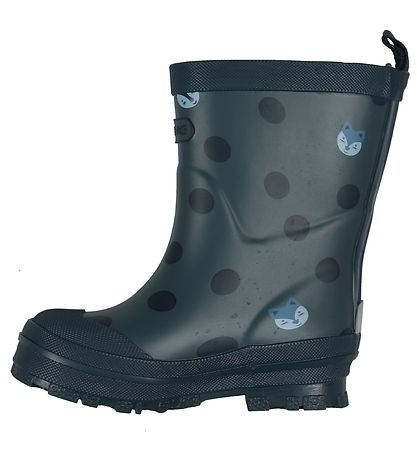 Viking Rubber Boots - Hidden Animals - Navy
