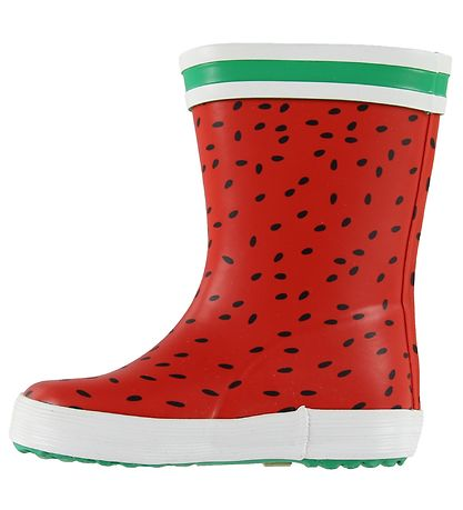 Aigle Rubber Boots - Baby Flac Fun - Pasteque