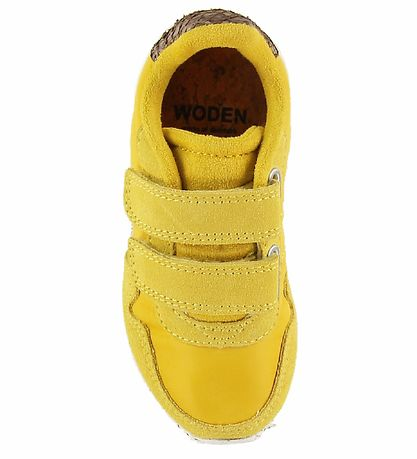 Woden Sneakers - Nora Metallic Heel - Super Lemon