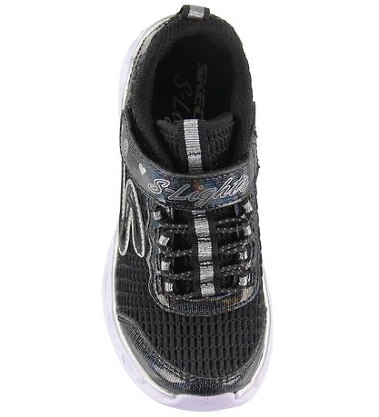 Skechers Sneakers w. Light - Heart Lights - Black