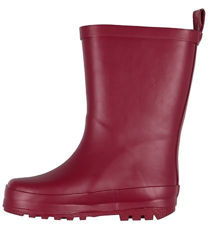 Color Kids Rubber Boots - Beet Red
