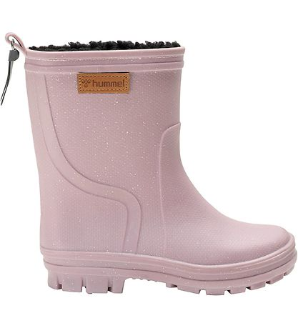 Hummel Rubber Boots w. Lining - Thermo Boot Jr - Deauville Mauv