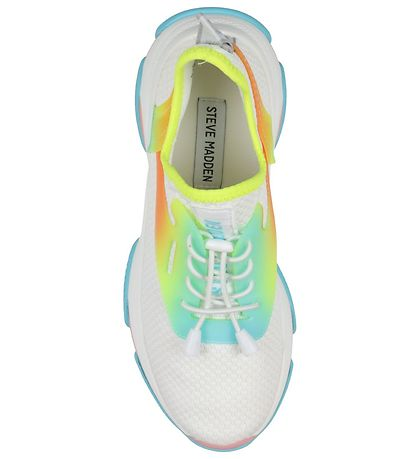 Steve Madden Shoes - Match - White w. Neon Colours