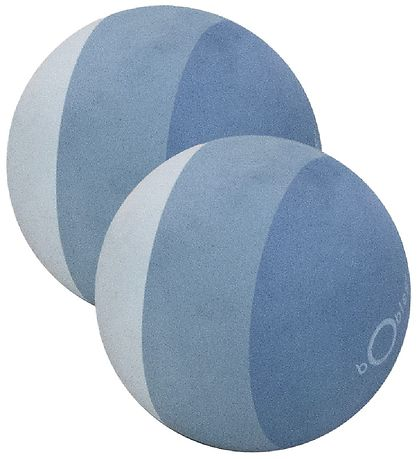 bObles Ball - 11 cm - 2-Pack - Blue Striped