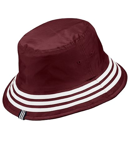 adidas Originals Bucket Hat - Sprt - Bordeaux/Navy