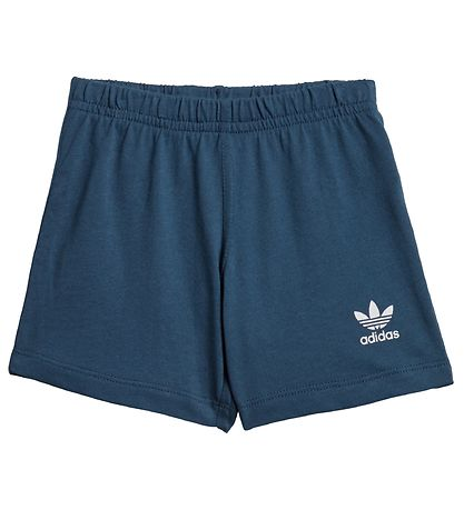 adidas Originals Set - Shorts/T-shirt - Big Trefoil - Night Mari