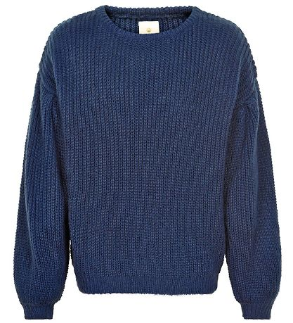 The New Blouse - Knitted - Moma - Blue