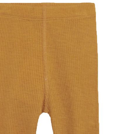 Hust and Claire Leggings - Lee - Wool/Bamboo - Mustard