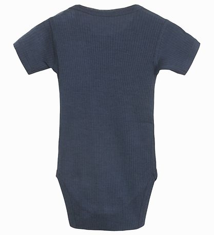 Hust and Claire Bodysuit s/s - Bet - Wool/Bamboo - Navy