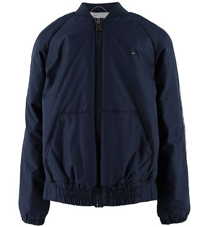 Tommy Hilfiger Jacket - Essential Tommy Tape - Black Iris