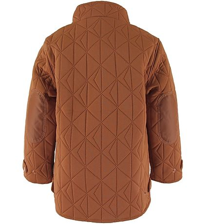 byLindgren Thermo Jacket - Lille Leif - Rust
