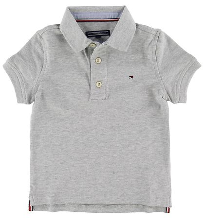 Tommy Hilfiger Polo - Tommy - Grey Heather