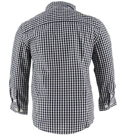 Tommy Hilfiger Shirt - Gingham - Sky Captain w. Checkered