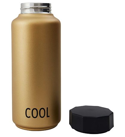 Design Letters Thermo Bottle - 500 ml - Gold