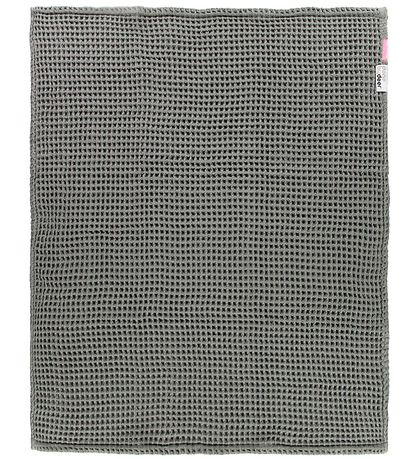 Done By Deer Blanket - 80x100 - Waffle - Grey