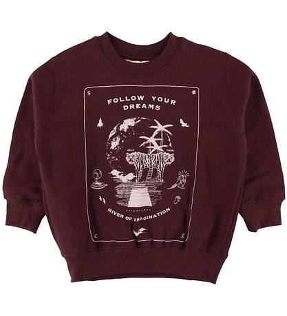 Soft Gallery Sweatshirt - Baptiste - Decadent Chocolate