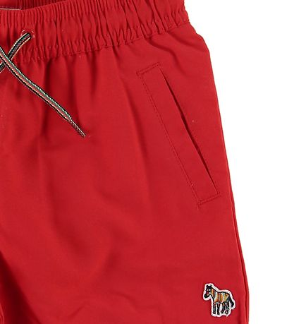 Paul Smith Junior Swim Trunks - Andreas - Red