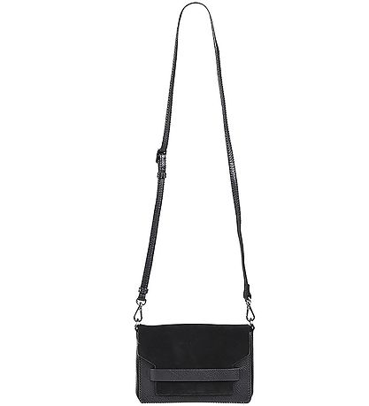 Markberg Shoulder Bag - Vanya Suede Mix - Black