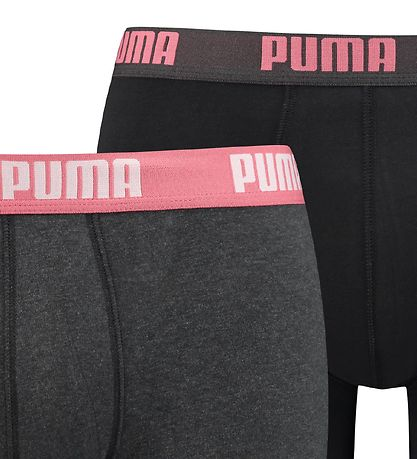 Puma Boxers - 2-pack - Charcoal/Black