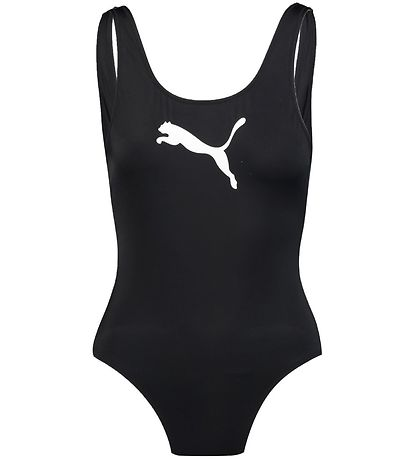 Puma Swimsuit - UV50+ - Black w. Logo