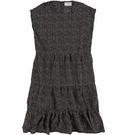 Grunt Dress - Hoppe - Black w. Dots