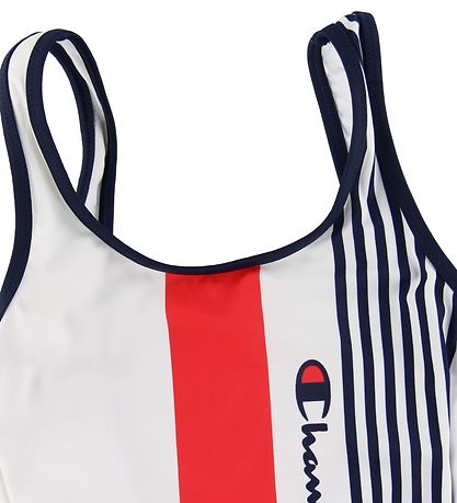 Champion Fashion Swimsuit - Red/White/Navy