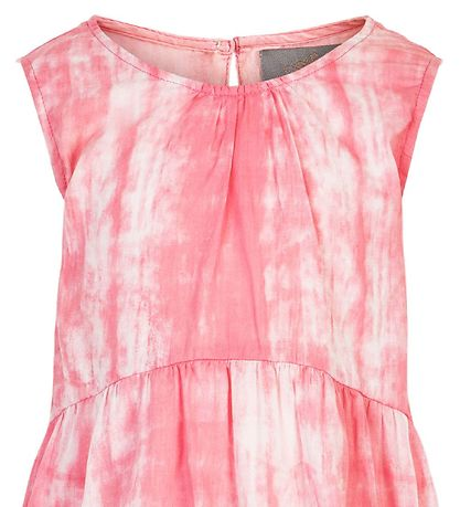 Creamie Dress - Tie Die - Pink Icing