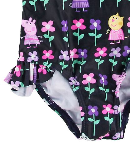 Name It Swimsuit - Black w. Peppa Pig