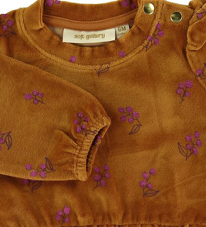 Soft Gallery Blouse - Emili - Thai Curry/Rosehibs