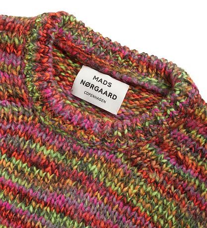 Mads Nørgaard Blouse - Knitted - Kollina - Multi Neon Orange