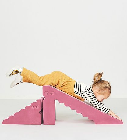 bObles Dino Slide - Blue Striped