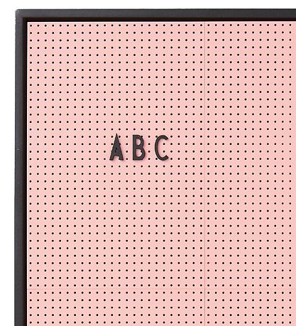 Design Letters Message Board - A2 - Pink