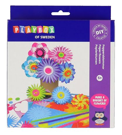 Playbox Creative Set - Paper flowers