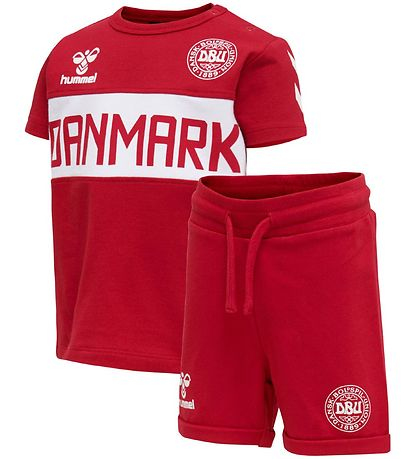 Hummel Summer Set - DBU - HMLBifald - Red