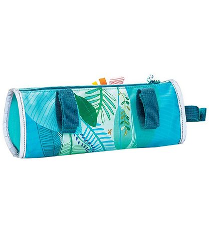 Lilliputiens Bike Bag - George - Blue w. Jungle