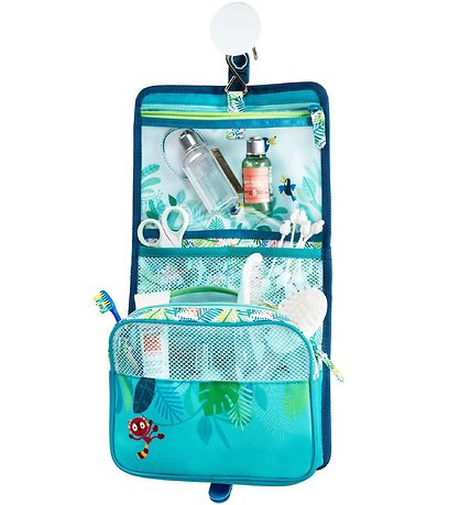 Lilliputiens Toiletry Bag - George - Blue w. Jungle