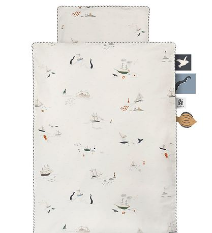Sebra Duvet Cover - Junior - Seven Seas