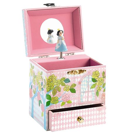 Djeco Jewelry Box w. Music - Enchanted Palace