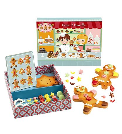Djeco Play Food - Oscar & Cannelle - Cakes