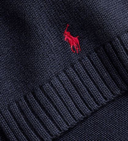 Polo Ralph Lauren Scarf - Wool - Navy
