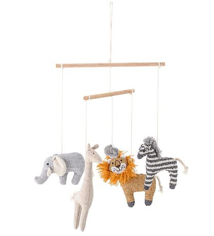 Bloomingville Baby Mobile - Multicolored w. Animals