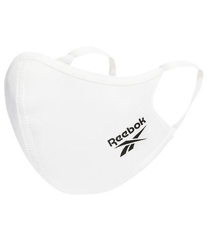 Reebok Face Mask - Small - 3-pack - White