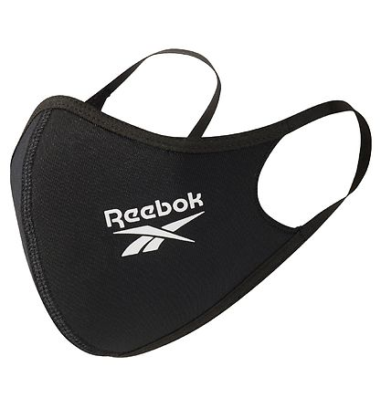 Reebok Face Mask - Small - 3-pack - Black