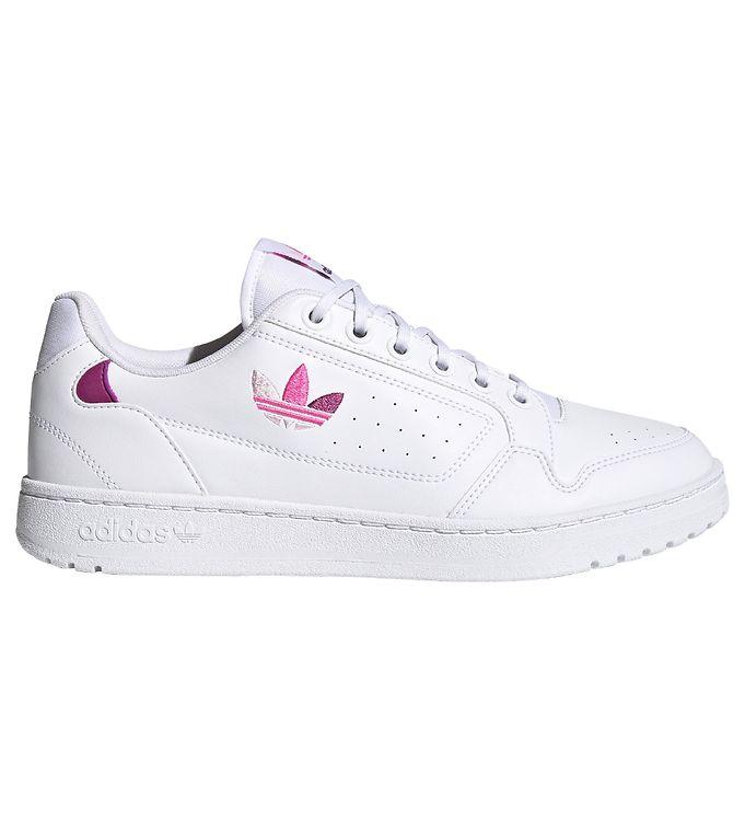 adidas Originals Sneakers - NY 90 - White w. Purple/Pink