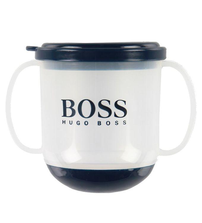 BOSS Mugg - Perm - Marinblå