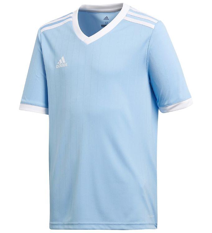 adidas Performance T-shirt - Tabela - Light Blue/White