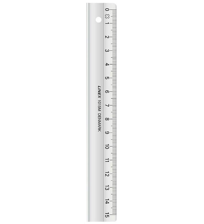 Linex School Ruler - 15 cm - Transparent » 30 Days Return