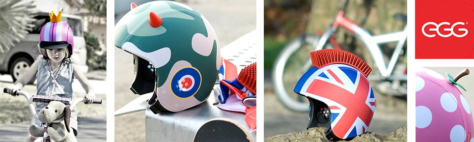 EGG Helmets Accessories for Kids