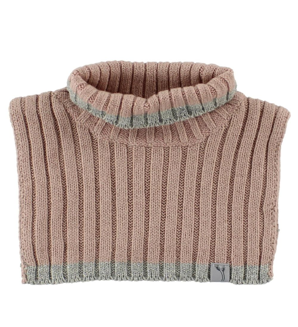 Wheat Neck Warmer - Cotton/Wool - Powder w. Glitter